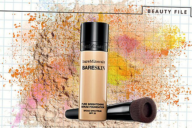 Skaistuma fails: BareMinerals ™ Jauns 2-in-1 Brightening Serum + Fonds