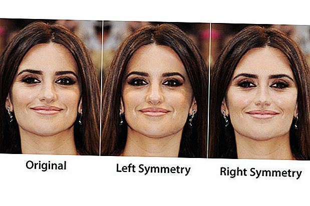 Face Symmetry of Celebrities