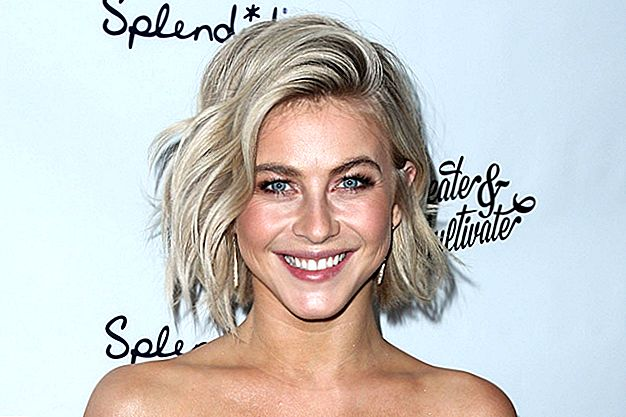 "Julianne Hough transformeert haar handelsmerkblonde haar in ""Unicorn"" Pink"