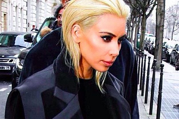UPDATE: Kim Kardashian is geen platina-blondine meer