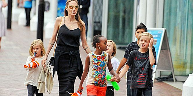 Angelina Jolie & Kids Undergo Therapy