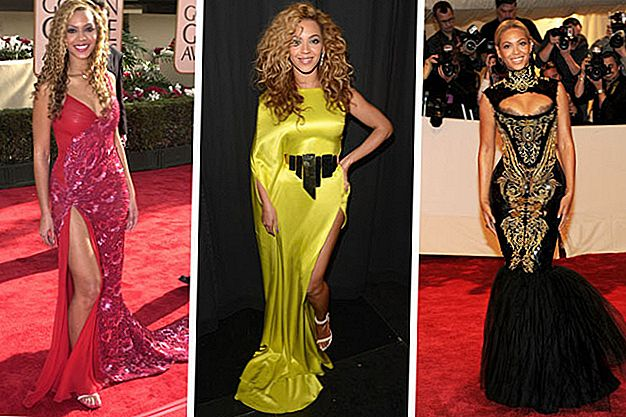 Beyonce's Evolution Style
