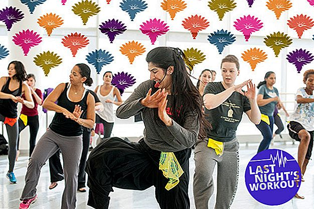 De workout van afgelopen nacht: Bollywood Dance Aerobics