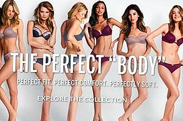 "Victoria's Secret ""Perfect Body"" kampaania on hapukas märkus"