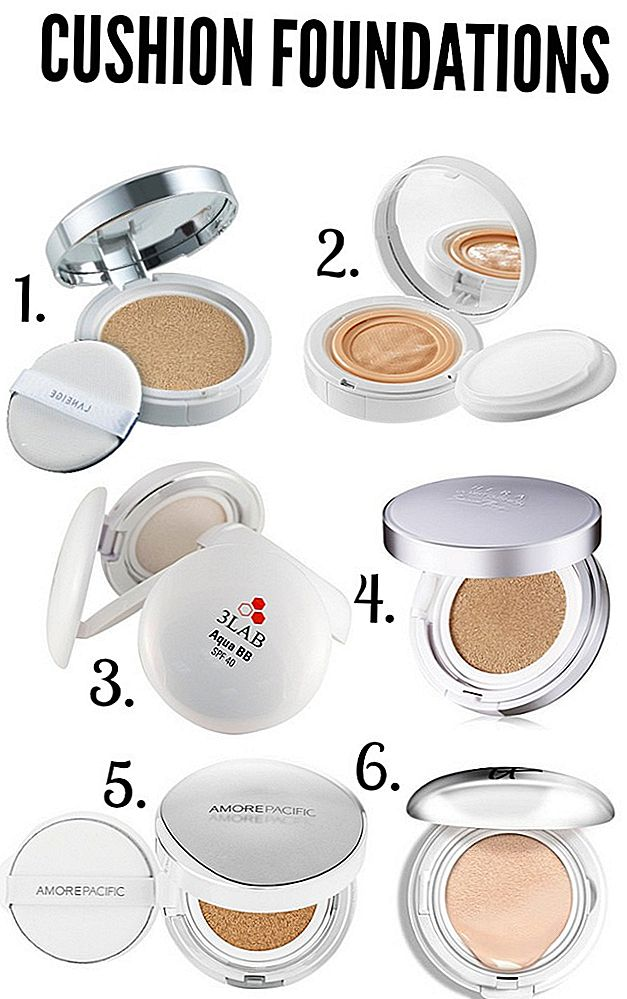 6 Cushion Foundation za poskus v letu 2018
