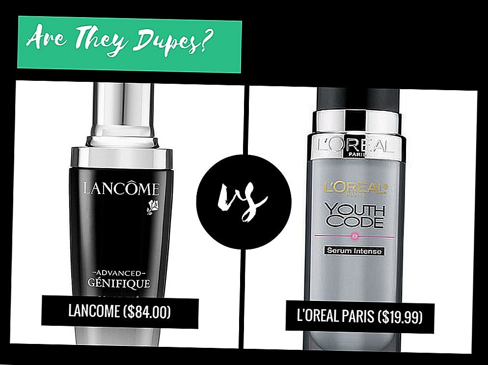 Zijn ze dubbels ?: Lancome Advanced Genifique Youth Activating Concentrate VS L'Oreal Paris Youth Code Serum Intense Daily Treatment
