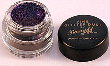 產品評論:Barry M Fine Glitter Dust in#23 Black Purple