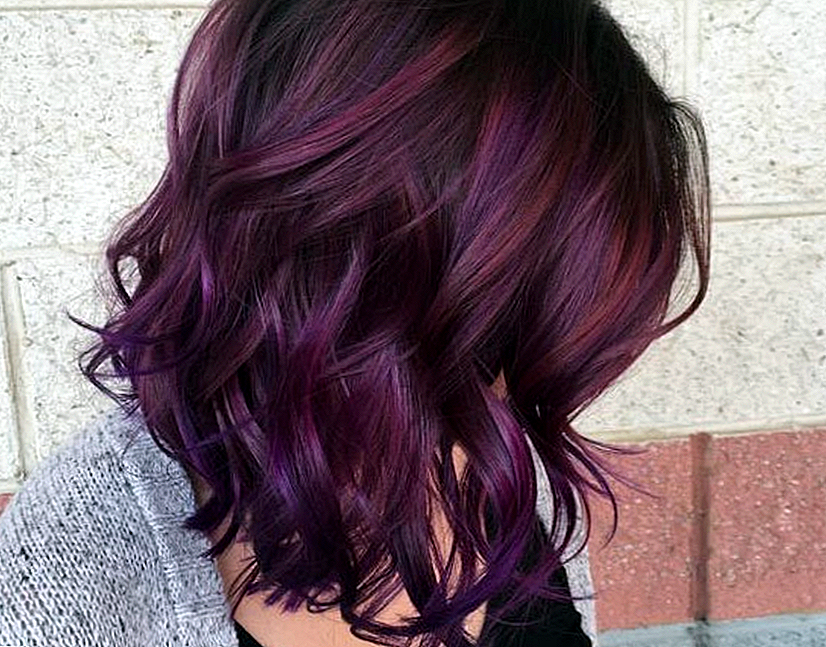 Blackberry Hair Trend Nagy idő a Pinterest