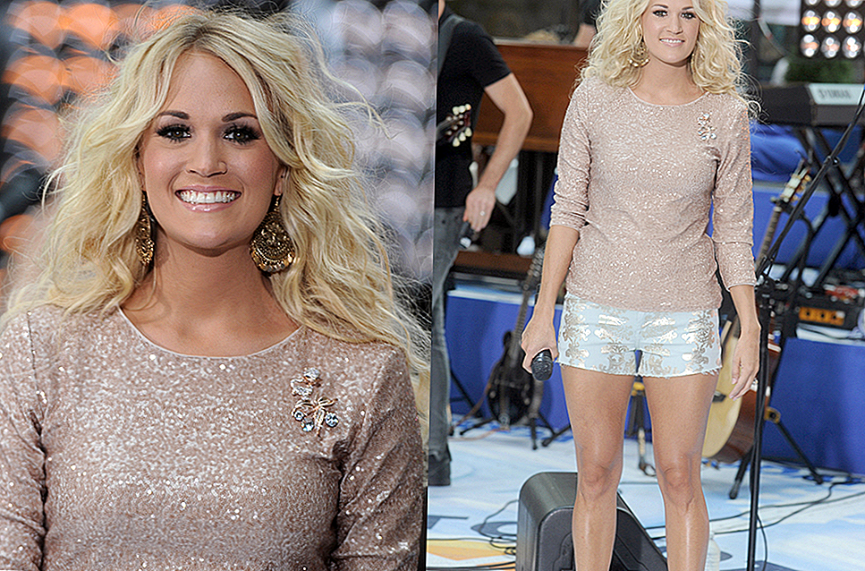 La Super Easy Thing Carrie Underwood fa ottenere gambe assassine