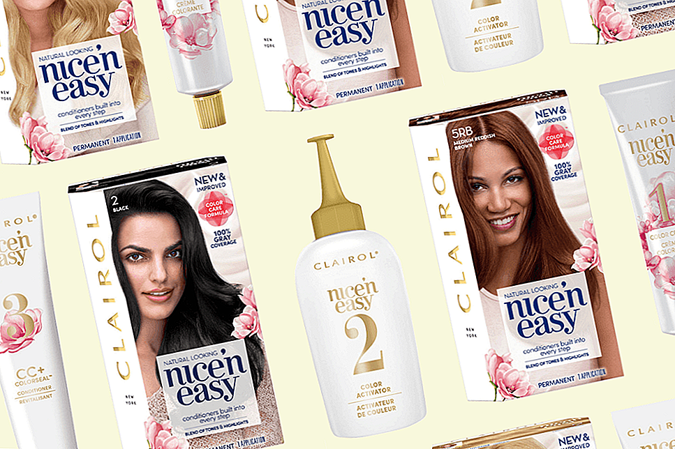 Clairol je pravkar naredil velike spremembe v Nice'n Easy Colour Collection