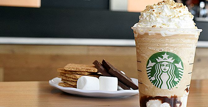 Starbucks antaa sinulle Cookie Straw New S'mores Frappuccinos