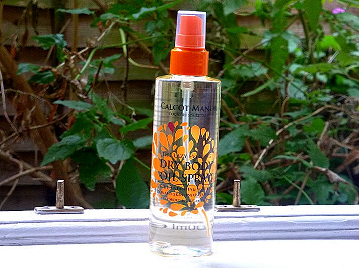 Luxury on Budget: Calcot Manor kuiva Body Oil Spray