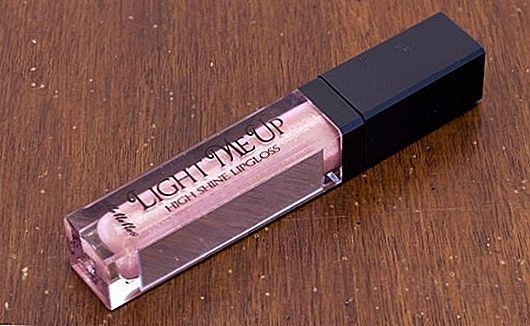 Recenzja produktu: MeMeMe Light Me Up Lipgloss w Illuminate