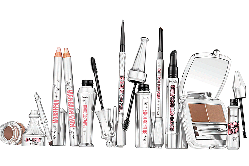 First Look: Benefit's New Brow kolekcija ir šeit, lai visu mainītu
