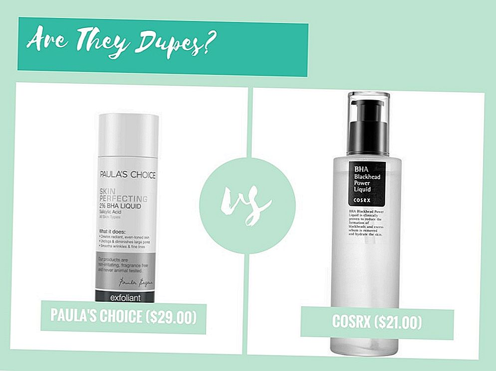 Are They Dupes ?: Paula's Choice Skin Perfecting 2% BHA Liquid Exfoliant VS Cosrx BHA Mee-eter Power Liquid