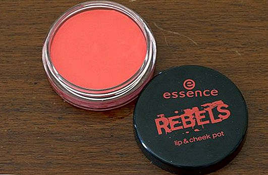 Revisión del producto: Essence Rebels Lip & Cheek Pot en Peach Punk
